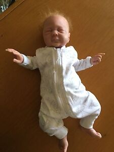REBORN BABY: life like baby doll - premmie Upper Coomera Gold Coast North Preview