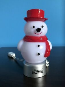 COOL LED COLOUR CHANGING SNOWMAN!!