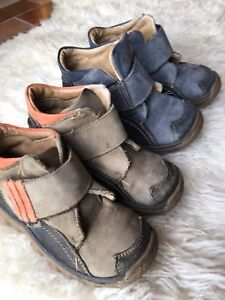 Kids German made leather shoes size 9 $10