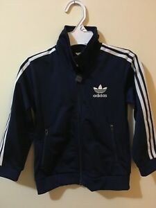 Like new Navy/White Adidas track suit size 4 toddler