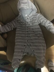 Baby 0-3 Month Winter Suit