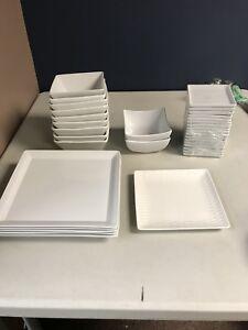 Square dish set