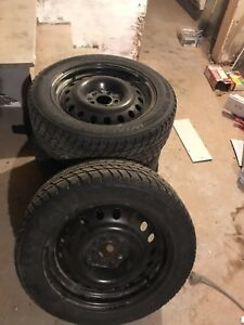 Winter rims and tires 225/55/r17