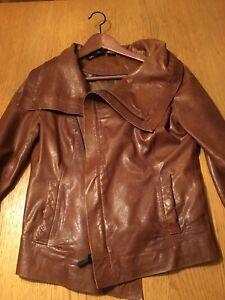 Manteau cuir Rudsak