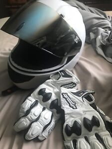 BRAND NEW Speed and Strength Helmet and Gloves