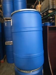 Plastic barrels - food grade and washed