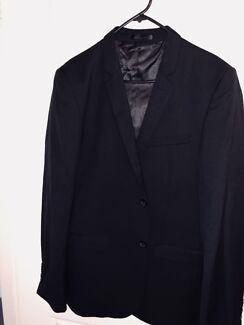 Mens Black Suit Jacket - Size 42 Worn once