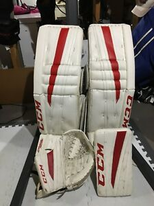 CCM Goalie Pads and Gloves