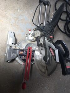 "10"" Sliding Compound Mitre Saw with Laser Trac"
