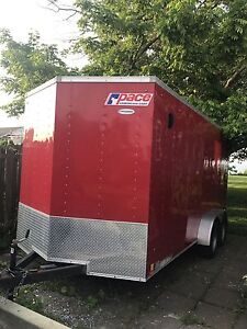 2015 pace enclosed trailer