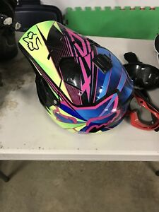 Fox V1 helmets (2 of them) Youth Large