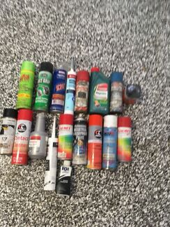 Selection of cans all working