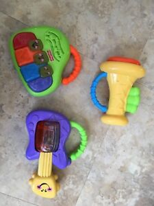Fisher price instruments baby toys