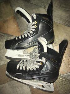 Gently used hockey skates