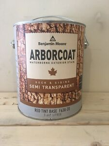 Semi transparent fence and deck stain, $30 per gallon