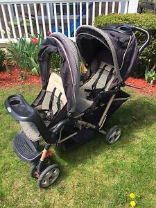 Graco  duo glider double stroller $70