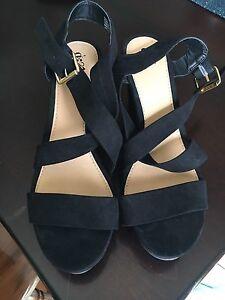 Black High Heels Size 10