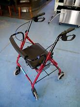 Economy Rollator Mobility Walker Walking Aid Frame Seat Chair Melbourne CBD Melbourne City Preview
