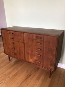 Danish Teak Rosewood Mcm Chest Of Drawers - Dresser