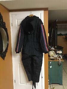 Men's vintage snow mobile suit
