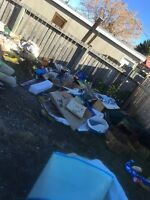 $20 & up junk removal/garbage haul and yard cleanup