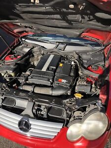 Mercedes c230 kompressor 2003 for Repair or parts