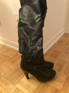 Guess boots leather size 6 never used