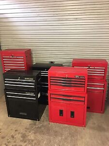 Multiple Toolbox tool trolley chests Hillbank Playford Area Preview