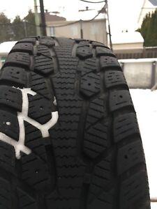 4 pneus d'hiver Cachland  196/65R15
