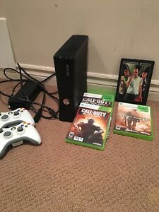 Still available. XBOX 360 Slim + Games