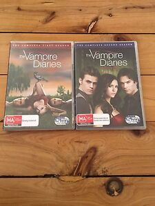 The Vampire Diaries Season 1&2 Mayfield West Newcastle Area Preview