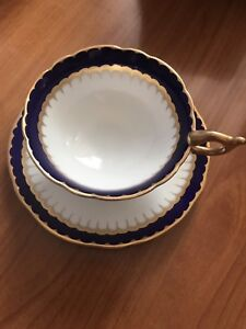 Coalport China Cup and Saucer
