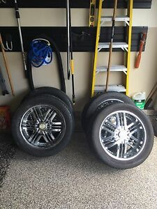 Summer tires/rims great condition