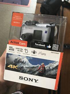 Sony 4K Action Cam FDR-X1000V