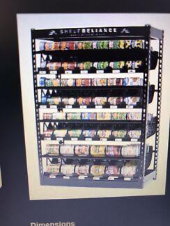 Shelf Reliance Canned Food Storage Rotation