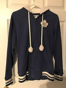 Full zip Toronto Maple leaf jacket