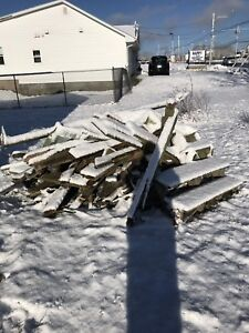 Free firewood (old deck)