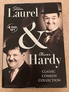Laurel and Hardy 4disc DVD set South Morang Whittlesea Area Preview