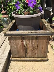 Planter Boxes & Plant Stand