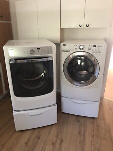 Maytag washer and dryer 99% new