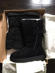 UGG Allegra Bow Black