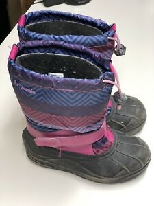 Girl's Columbia Winter Boots.  Size 3