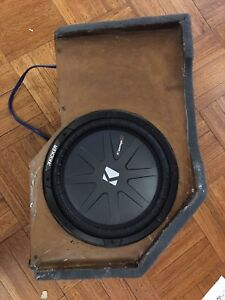 99-06 Chevy/GMC speaker box and sub