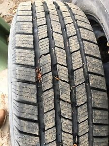245/70 R17 Michelin LTX Ice tires with rims