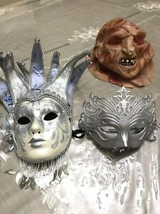 Perfect costumes masks for Halloween