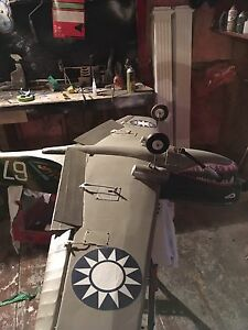 Rc Top flight p 40 with os 120 4 stroke
