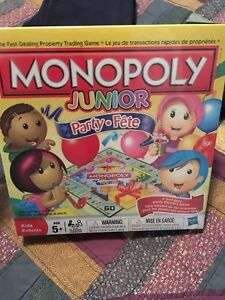 New Monopoly Junior Party