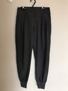 * Rare* Lululemon Lab pleated Trouser / Jogger Sz 4