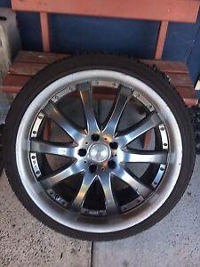 20inch wheels an tyres. Xr6 xr8 boss FPV 5x114.3 Crestmead Logan Area Preview
