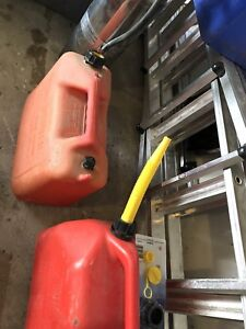 Two 20 litre gas tank for sale